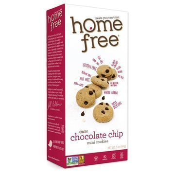 Homefree - Gluten Free Mini Cookies - Chocolate Chip - Case of 6 - 5 oz.
