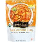 Imagine Foods Culinary Simmer Sauce - Organic - Thai Coconut Curry - 10 oz - case of 6