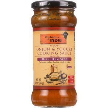 Kitchen Of India Cooking Sauce - Onion and Yogurt - Delhi Dum Aloo - 12.2 oz - case of 6