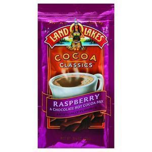 Land O Lakes Cocoa Classic Mix - Raspberry and Chocolate - 1.25 oz - Case of 12