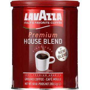 Lavazza Coffee - Can - Ground - Premium House Blend - 10 oz - 1 each