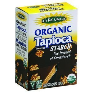 Let's Do Organics Tapioca Starch - Organic - 6 oz - Case of 6
