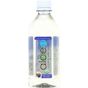 Lily of the Desert - Aloe H2O - Organic - Blueberry-Pomegranate - Gluten Free - 16.9 oz - case of 12