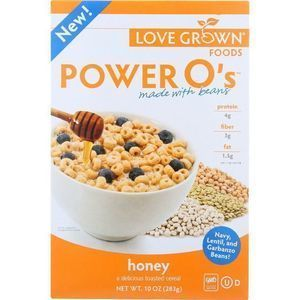 Love Grown Foods Cereal - Power Os - Honey - 10 oz - case of 6