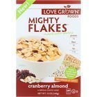 Love Grown Foods Cereal - Mighty Flakes - Cranberry Almond - 12 oz - case of 6