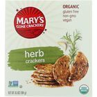 Marys Gone Crackers Crackers - Organic - Herb - Wheat Free - Gluten Free - 6.5 oz - case of 12