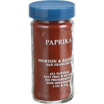 Morton and Bassett Seasoning - Paprika - 2 oz - Case of 3