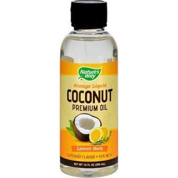 Premium Nature Coconut Oil  Oz