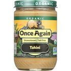 Once Again Tahini - Organic - Sesame - 16 oz - case of 12