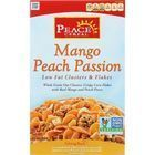 Peace Cereals Cereal - Clusters and Flakes - Low Fat - Mango Peach Passion - 10 oz - case of 6