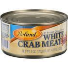 Roland Products Fish - Crabmeat - White - 6 oz