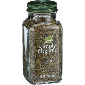 Simply Organic Rosemary Leaf- Organic - Whole - 1.23 oz