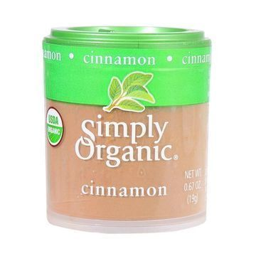 Simply Organic Cinnamon - Organic - Ground - A Grade - .67 oz - Case of 6