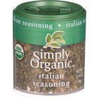 Simply Organic Italian Seasoning - Organic - .14 oz - Case of 6