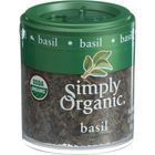 Simply Organic Basil Leaf - Organic - Sweet - Cut and Sifted - .18 oz - Case of 6