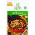 Simply Organic Seasoning Mix - Organic - Jambalaya - .74 oz - Case of 12
