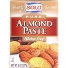 Solo Almond Paste - 8 oz - case of 12