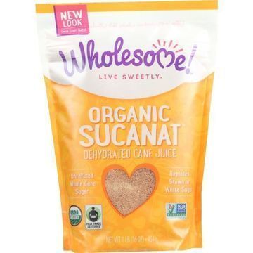 Wholesome Sweeteners Dehydrated Cane Juice - Organic - Sucanat - Case of 12 lbs