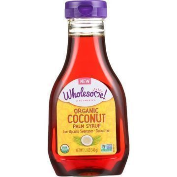 Wholesome Sweeteners Syrup - Organic - Coconut Palm - 12 oz - case of 6