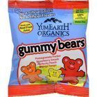 Yummy Earth Organic Gummy Bears - Case of 24 - .9 oz