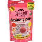 Yummy Earth Organic Standup Lollipops Strawberry Smash - 3 oz - Case of 6