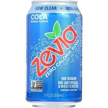 Zevia Soda - Zero Calorie - Cola - Can - 6/12 oz - case of 4