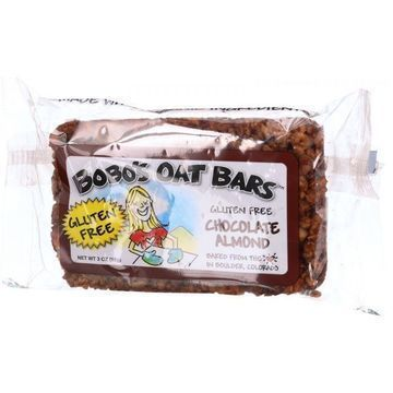 Bobo's Oat Bars - All Natural - Gluten Free - Chocolate Almond - 3 oz Bars - Case of 12