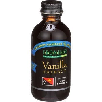 Frontier Herb Vanilla Extract - Gourmet - Papua New Guinea - 2 oz - Case of 6