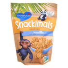 Barbara's Bakery Snackimals Cookies - Vanilla - Case of 6 - 7.5 oz.