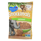 Barbara's Bakery Snackimals Cookies - Oatmeal - Case of 18 - 2.125 oz.