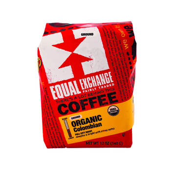 Equal Exchange Organic Drip Coffee - Colombian - Case of 6 - 12 oz.
