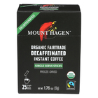 Mount Hagen Instant Decaffeinated Coffee - Coffee - Case of 8 - 1.76 oz.