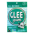 Glee Gum Chewing Gum - Peppermint  - Case of 6 - 75 Count