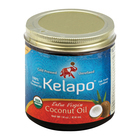 Kelapo Organic Extra Virgin Coconut Oil Amber Glass Jar - Case of 6 - 14 oz.