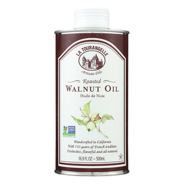 La Tourangelle Roasted Walnut Oil - Case of 6 - 500 ml