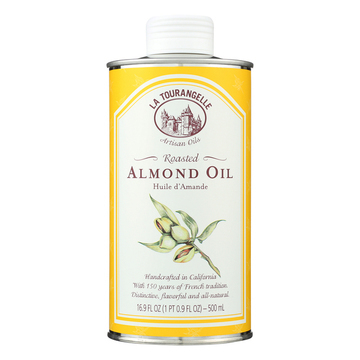 La Tourangelle Roasted Almond Oil - Case of 6 - 500 ml