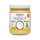 Nutiva Organic Coconut Oil - Buttery - Case of 6 - 14 oz.