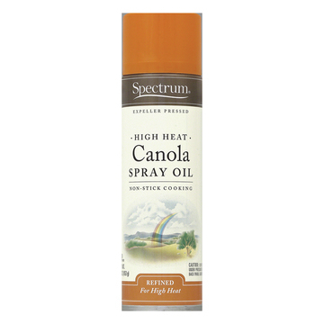Spectrum Naturals High Heat Canola Spray Oil - Case of 6 - 16 Fl oz.