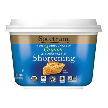 Spectrum Naturals Organic Shortening - Case of 12 - 24 oz.