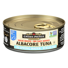 Crown Prince Albacore Tuna In Spring Water - Solid White - Case of 12 - 5 oz.