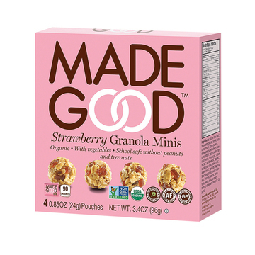 Made Good Granola Minis - Strawberry - Case of 6 - 3.4 oz.
