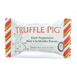 Dark Peppermint Truffle Pig'let