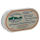 Bar Harbor Wild Herring Fillets - Tomato Basil Sauce - Case of 12 - 7 oz.