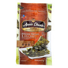 Annie Chun's Seaweed Snacks Roasted Brown Sugar and Sea Salt - Case of 12 - 0.35 oz.