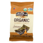 Annie Chun's Organic Seaweed Snacks Sesame - Case of 12 - 0.35 oz.