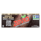 Zevia Zero Calorie Soda - Ginger Root Beer - Case of 2 - 12 Fl oz.