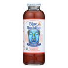 Blue Buddha - Organic Wellness Tea - Raspberry Hibiscus with Ashwagandha - Case of 12 - 14 oz.
