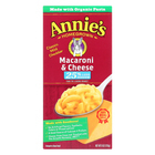 Annie's Homegrown Low Sodium Macaroni and Cheese - Case of 12 - 6 oz.
