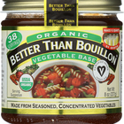 Better Than Bouillon Organic Seasoned - Vegetable Base - Case of 6 - 8 oz.