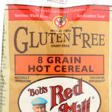 Bob's Red Mill - Gluten Free 8 Grain Hot Cereal - 27 oz - Case of 4